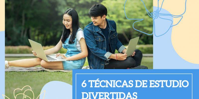6 TÉCNICAS DE ESTUDIO DIVERTIDAS PARA ESTE VERANO