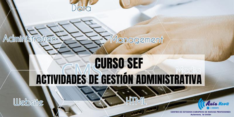 Curso SEF.- Actividades De Gestión Administrativa