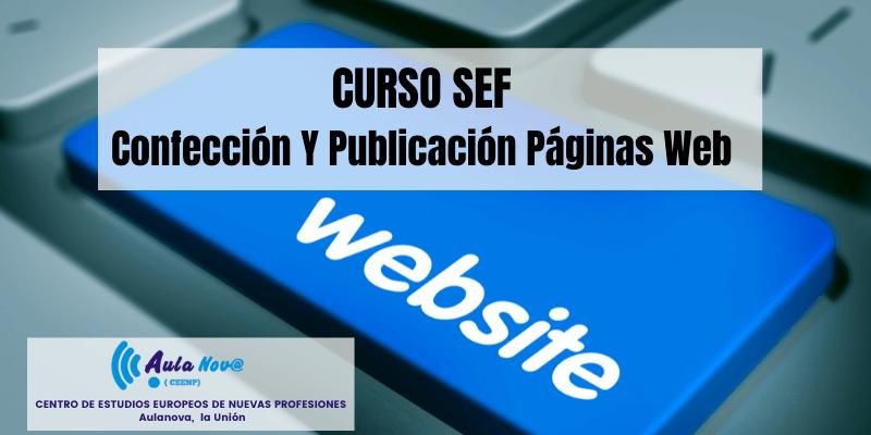Curso SEF.- Confección y publicación páginas web
